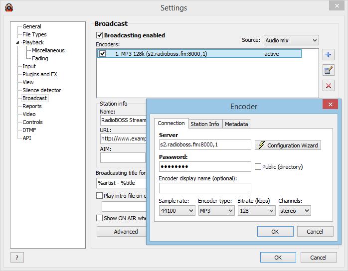 Radioboss - radio automation software.