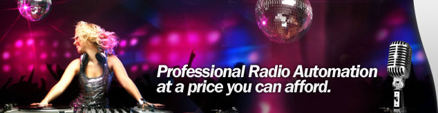 Professional Radio Automation at a price you can afford.