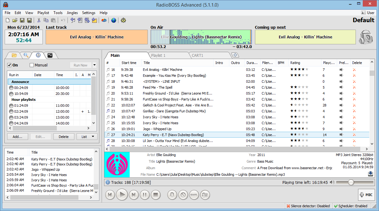 Image Gallery Internet Radio Automation Freeware