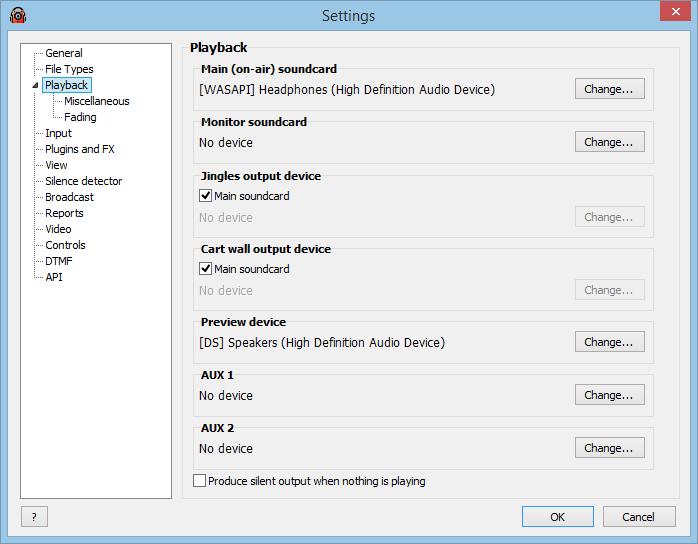 RadioBOSS – Software For Radio Station Automation RadioBOSS - Crossfade setup RadioBOSS - Playback Settings ...